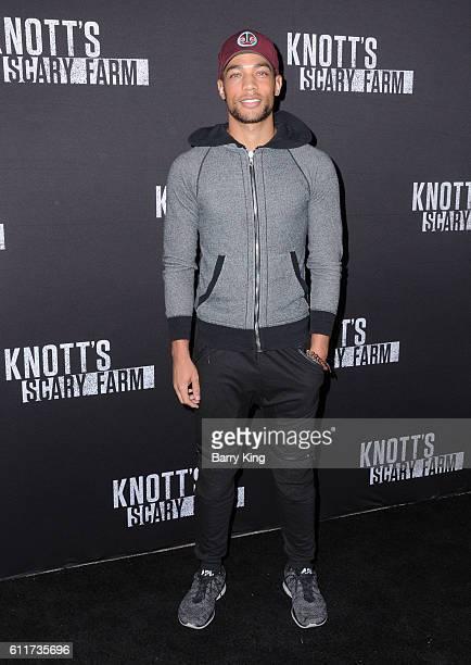 Actor Kendrick Sampson attends Knott's Scary Farm black carpet event at Knott's Berry Farm on September 30 2016 in Buena Park California