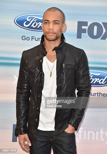 Actor Kendrick Sampson attends the 2014 FOX Fall EcoCasino party at The Bungalow on September 8 2014 in Santa Monica California