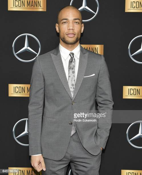 Actor Kendrick Sampson attends the MercedesBenz x ICON MANN 2017 Academy Awards Viewing Party at Four Seasons Hotel Los Angeles at Beverly Hills on...
