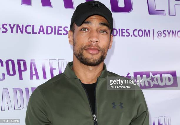 Actor Kendrick Sampson attends the Syncopated Ladies LA concert at The John Anson Ford Amphitheatre on July 28 2017 in Hollywood California