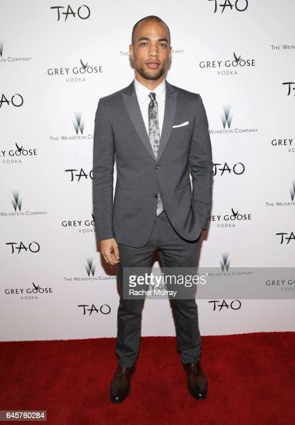 Actor Kendrick Sampson attends The Weinstein Company's Academy Awards viewing and after party in partnership with Grey Goose at TAO Los Angeles on...