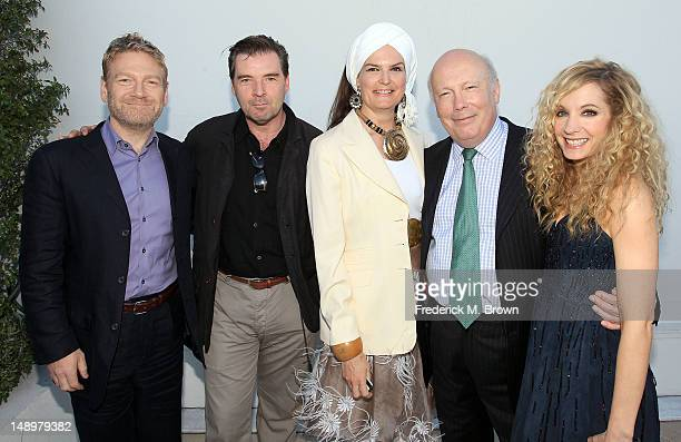 Actor Kenneth Branagh actor Brendan Coyle Emma Kitchener creator/writer/executive producer Julian Fellowes and actress Joanne Froggatt attend...
