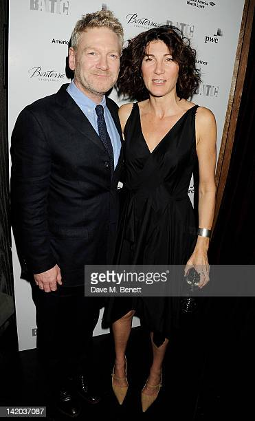 Actor Kenneth Branagh and cast member Eve Best attend an after party celebrating the press night performance of 'The Duchess of Malfi' at Baltic...