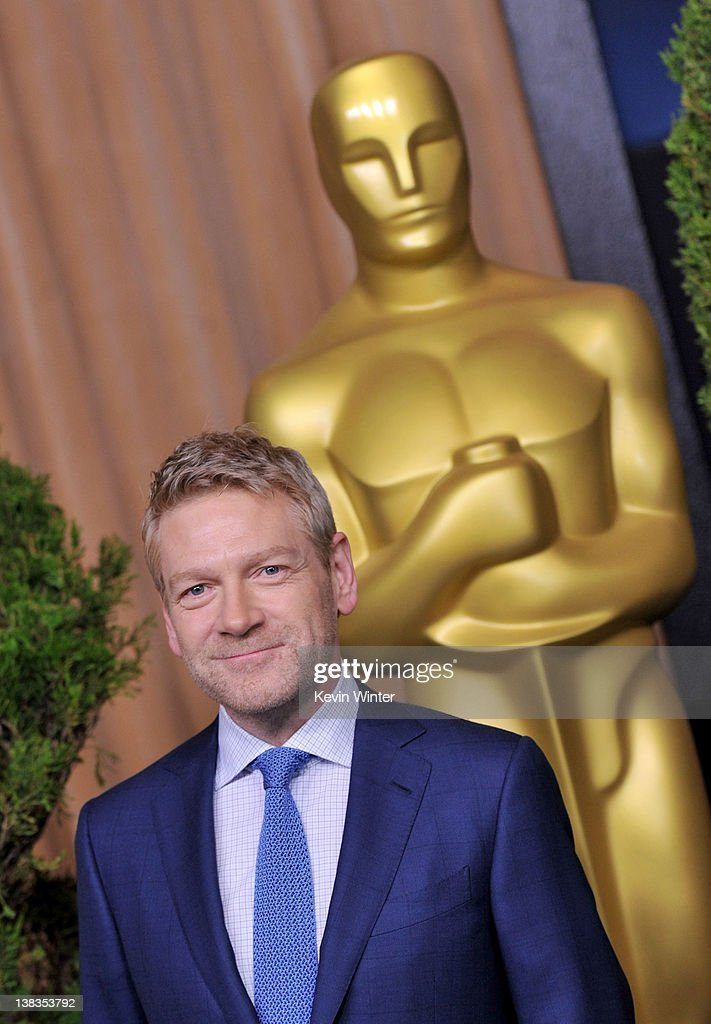 Actor Kenneth Branagh arrives at the 84th Academy Awards Nominations Luncheon at The Beverly Hilton hotel on February 6 2012 in Beverly Hills...