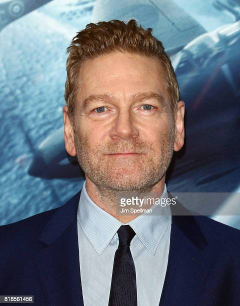 Actor Kenneth Branagh attends the 'DUNKIRK' New York premiere at AMC Lincoln Square IMAX on July 18 2017 in New York City