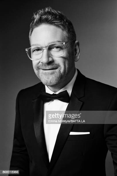 Actor Kenneth Branagh is photographed at the 2017 AMD British Academy Britannia Awards on October 27 2017 in Los Angeles California