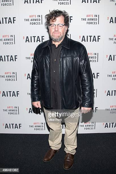 Actor Kenneth Lonergan attends the Arts in the Armed Forces 7th annual performance of 'Lobby Hero' at Studio 54 on November 9 2015 in New York City
