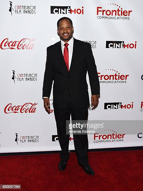 Actor Kente Scott arrives at the 3rd Annual Cinefashion Film Awards at the Saban Theatre on December 15 2016 in Beverly Hills California