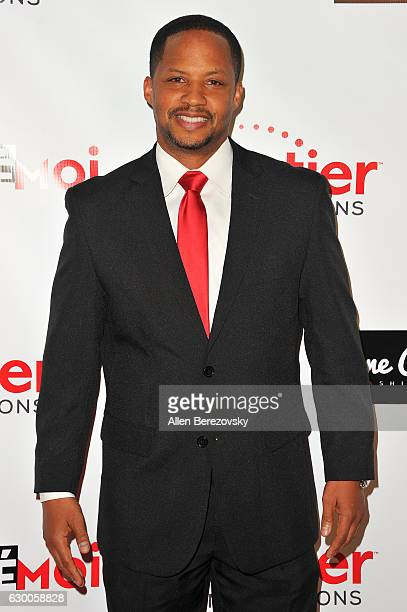 Actor Kente Scott attends the 3rd Annual Cinefashion Film Awards at Saban Theatre on December 15 2016 in Beverly Hills California