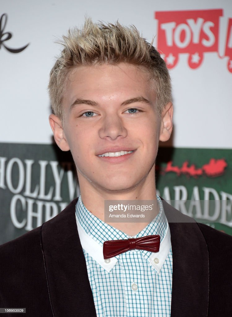Actor Kenton Duty arrives at the 2012 Hollywood Christmas Parade Benefiting Marine Toys For Tots on November 25, 2012 in Hollywood, California.