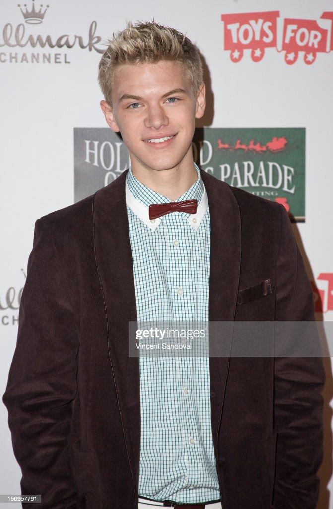Actor Kenton Duty attends the 2012 Hollywood Christmas Parade Benefiting Marine Toys For Tots on November 25, 2012 in Los Angeles, California.
