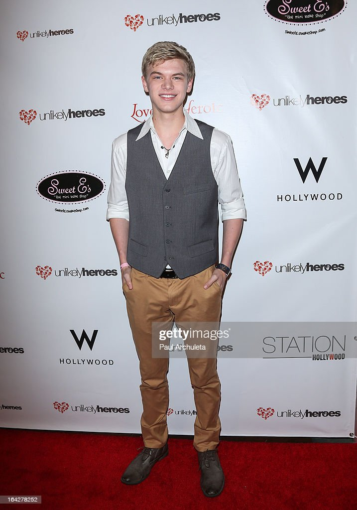 Actor Kenton Duty attends the 'Love Is Heroic' - The Unlikely Heroes annual spring benefit at the W Hollywood on March 21, 2013 in Hollywood, California.