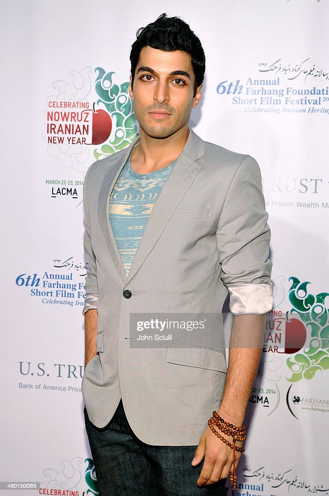 Actor Keon Mohajeri attends the 6th Annual Farhang Foundation's Short Film Festival award ceremony and reception at LACMA on March 22, 2014 in Los Angeles, California.