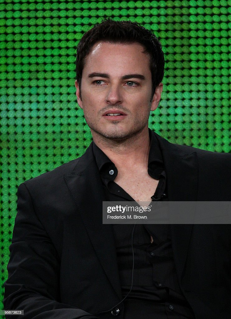 Actor <a gi-track='captionPersonalityLinkClicked' href=/galleries/search?phrase=Kerr+Smith&family=editorial&specificpeople=736381 ng-click='$event.stopPropagation()'>Kerr Smith</a> speaks onstage at the CW 'Life Unexpected' Q&A portion of the 2010 Winter TCA Tour day 1 at the Langham Hotel on January 9, 2010 in Pasadena, California.