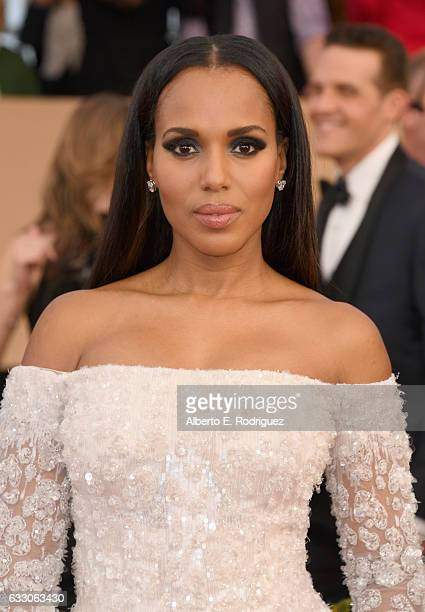 Actor Kerry Washington attends the 23rd Annual Screen Actors Guild Awards at The Shrine Expo Hall on January 29 2017 in Los Angeles California