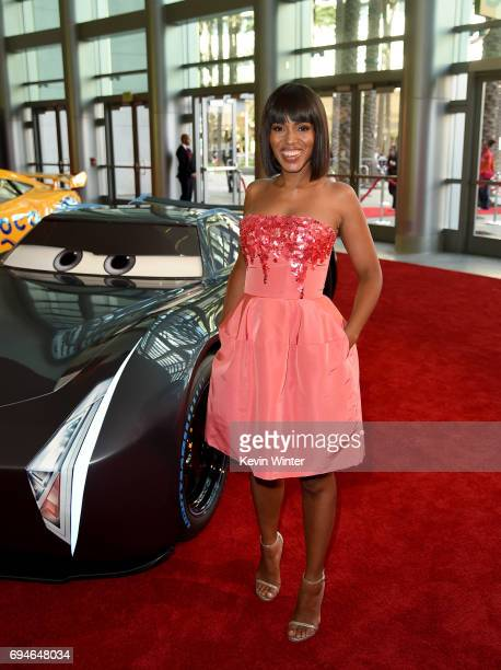 Actor Kerry Washington attends the premiere of Disney and Pixar's 'Cars 3' at Anaheim Convention Center on June 10 2017 in Anaheim California