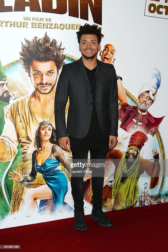 Actor <a gi-track='captionPersonalityLinkClicked' href=/galleries/search?phrase=Kev+Adams&family=editorial&specificpeople=8192242 ng-click='$event.stopPropagation()'>Kev Adams</a> attends 'Les Nouvelles Aventures D'Aladin' Premiere at Le Grand Rex on October 6, 2015 in Paris, France.