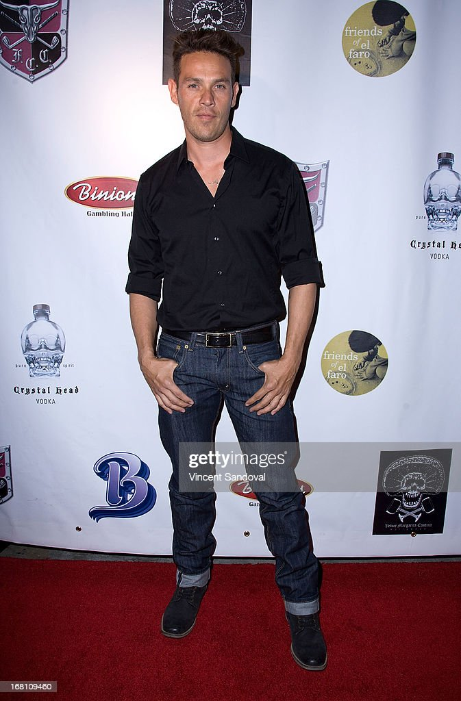 Actor <a gi-track='captionPersonalityLinkClicked' href=/galleries/search?phrase=Kevin+Alejandro&family=editorial&specificpeople=541256 ng-click='$event.stopPropagation()'>Kevin Alejandro</a> attends the 10th annual anniversary and Cinco De Mayo benefit with annual Charity Celebrity Poker Tournament at Velvet Margarita on May 4, 2013 in Hollywood, California.