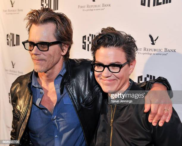 Actor Kevin Bacon and Director Sarah Gubbins attend the 60th SFFILM Festival Red Carpet Screening of 'I Love Dick' at Alamo Drafthouse New Mission on...