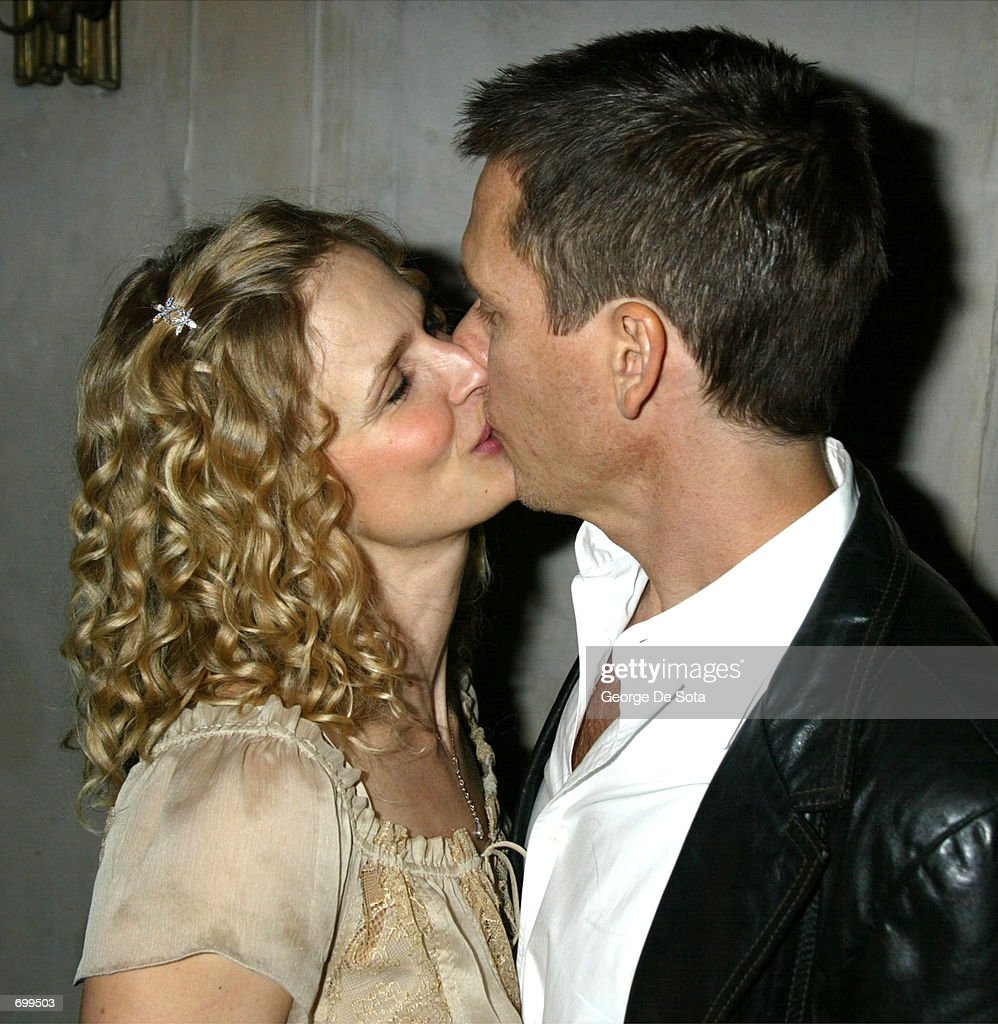 faith bacon stock photos and pictures getty images actor kevin bacon and his wife actress kyra sedgwick kiss at the afterparty for the broadway