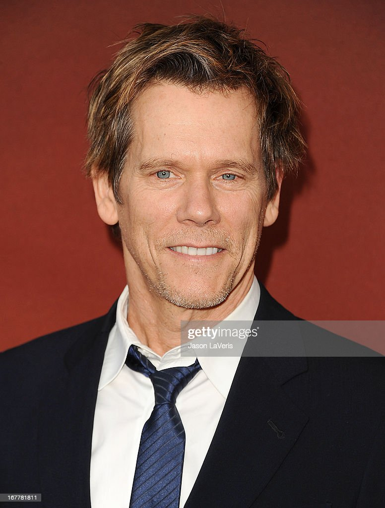 Actor <a gi-track='captionPersonalityLinkClicked' href=/galleries/search?phrase=Kevin+Bacon&family=editorial&specificpeople=202000 ng-click='$event.stopPropagation()'>Kevin Bacon</a> attends a screening and Q&A of 'The Following' at Leonard H. Goldenson Theatre on April 29, 2013 in North Hollywood, California.