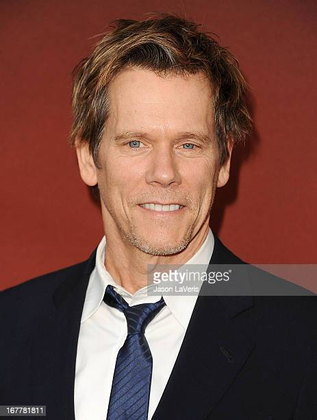 Actor Kevin Bacon attends a screening and QA of 'The Following' at Leonard H Goldenson Theatre on April 29 2013 in North Hollywood California