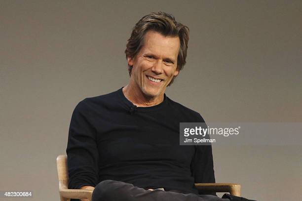 Actor Kevin Bacon attends the Apple Store Soho presents Meet the Filmmaker Kevin Bacon 'Cop Car' at Apple Store Soho on July 29 2015 in New York City