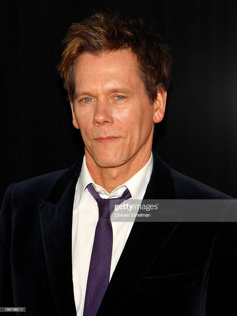 Actor Kevin Bacon attends 'The Following' premiere at The New York Public Library on January 18, 2013 in New York City.