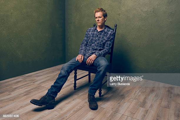 Actor Kevin Bacon from 'Cop Car' poses for a portrait at the Village at the Lift Presented by McDonald's McCafe during the 2015 Sundance Film...