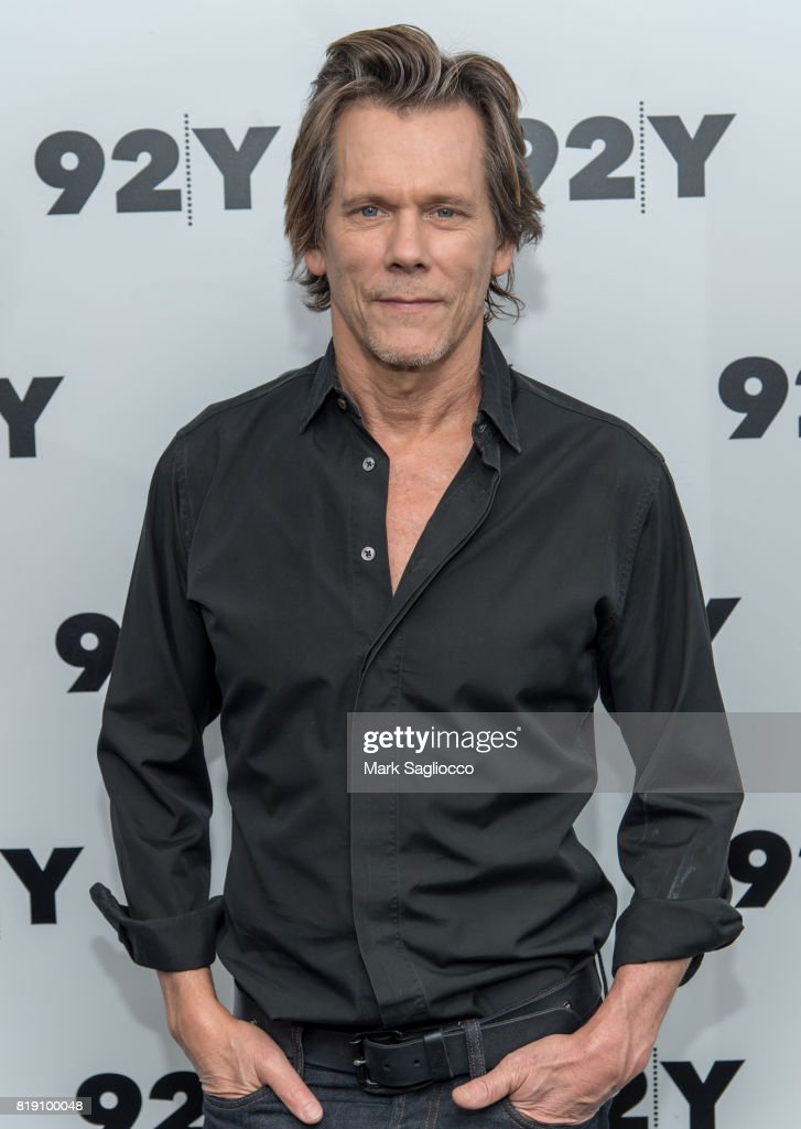 Actor Kevin Bacon in Conversation at 92nd Street Y on July 19, 2017 in New York City.