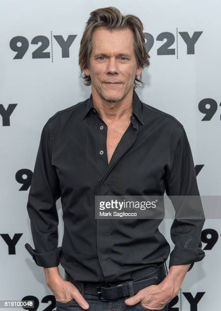 Actor Kevin Bacon in Conversation at 92nd Street Y on July 19 2017 in New York City