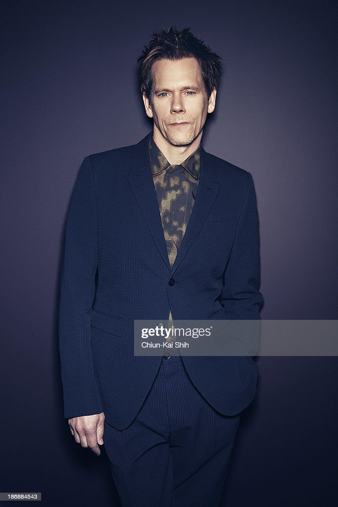 Actor <a gi-track='captionPersonalityLinkClicked' href=/galleries/search?phrase=Kevin+Bacon&family=editorial&specificpeople=202000 ng-click='$event.stopPropagation()'>Kevin Bacon</a> is photographed for August Man on January 27, 2013 in New York City.