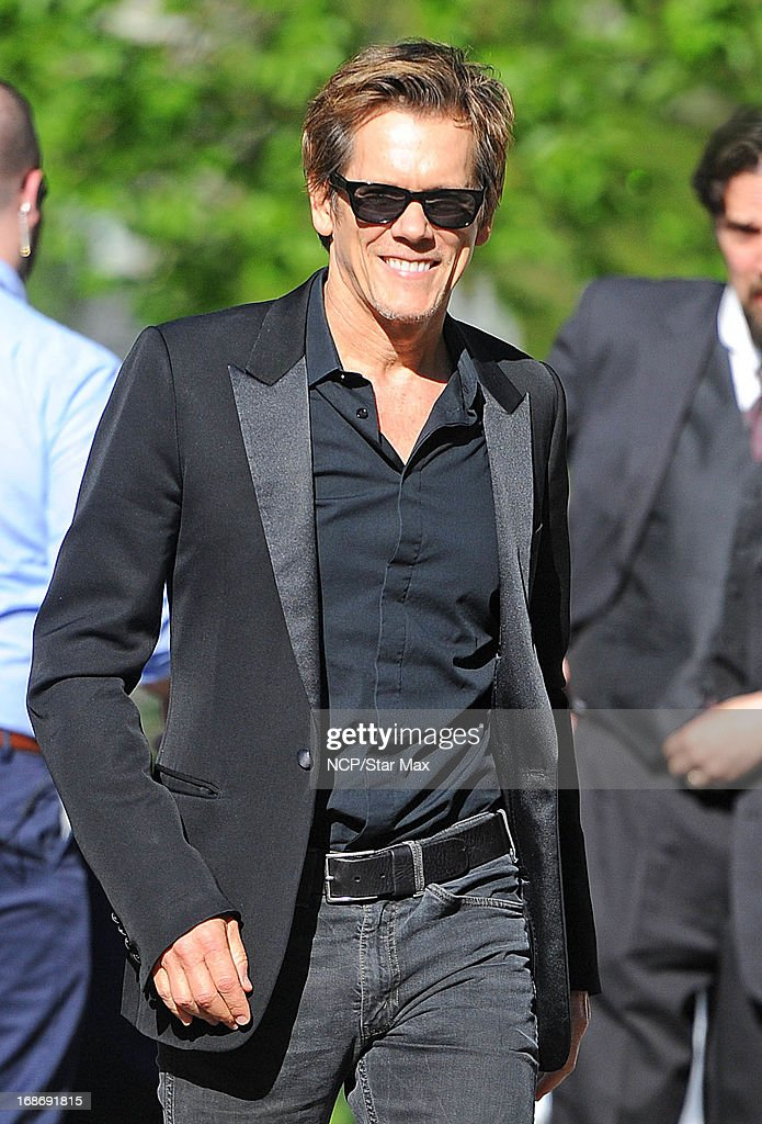 Actor Kevin Bacon is seen on May 13, 2013 in New York City.