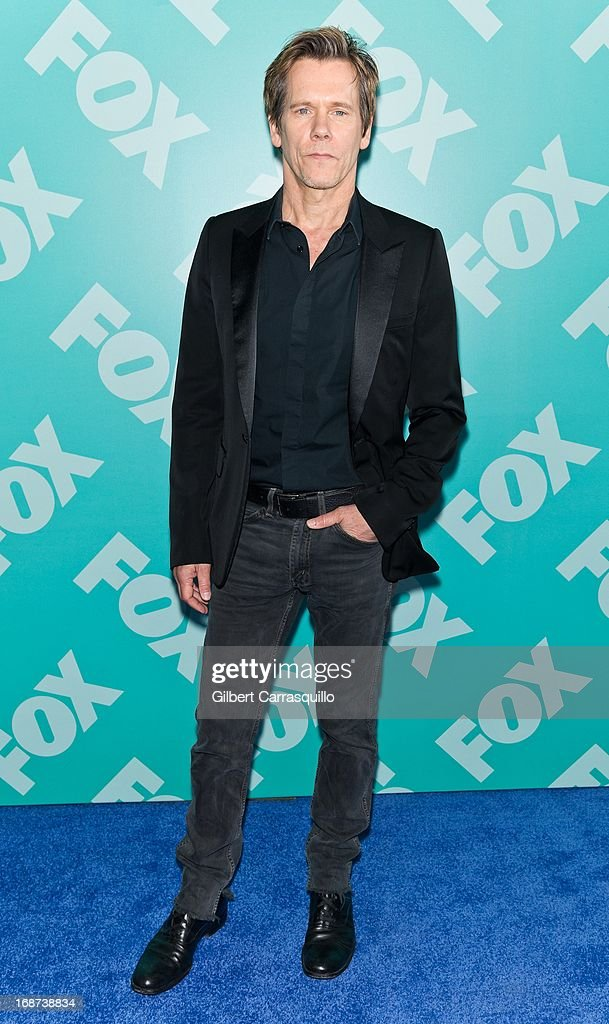 Actor Kevin Bacon of 'The Following' attends the FOX 2103 Programming Presentation Post-Party at Wollman Rink - Central Park on May 13, 2013 in New York City.