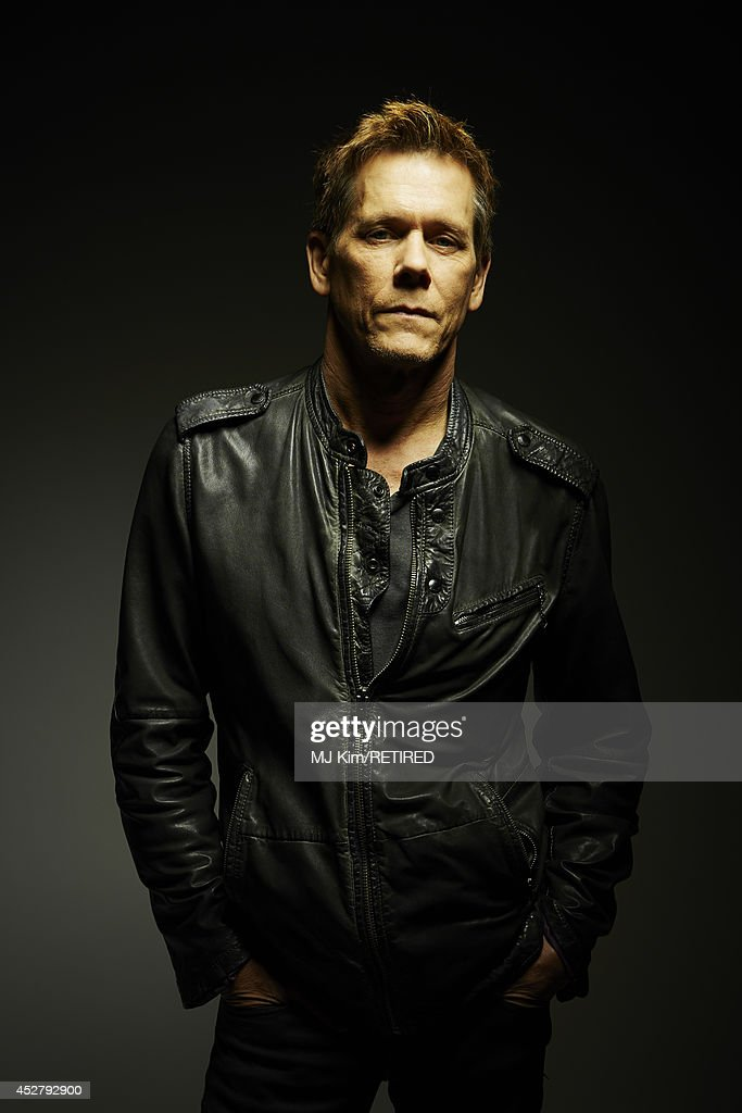 Actor Kevin Bacon poses for a portrait at the Getty Images Portrait Studio Powered By Samsung Galaxy at ComicCon International 2014 at Hard Rock...