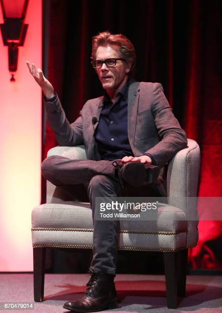 Actor Kevin Bacon speaks onstage at Amazon Studios Emmy FYC event for I Love Dick at The Hollywood Athletic Club in Hollywood on April 19 2017 in...