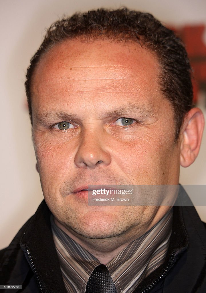 Actor Kevin Chapman attends the 'Black Dynamite' film premiere at the Arclight Hollywood on October 13, 2009 in Hollywood, California.