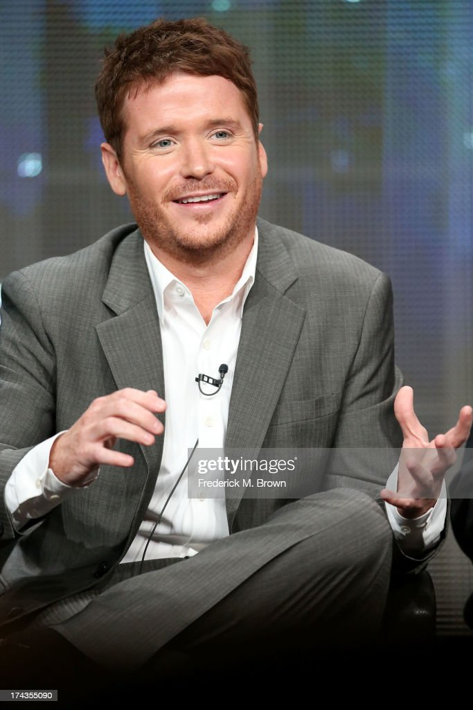 Actor <a gi-track='captionPersonalityLinkClicked' href=/galleries/search?phrase=Kevin+Connolly&family=editorial&specificpeople=206759 ng-click='$event.stopPropagation()'>Kevin Connolly</a> speaks onstage during the ESPN Films '30 for 30' panel at the ESPN portion of the 2013 Summer Television Critics Association tour at the Beverly Hilton Hotel on July 24, 2013 in Beverly Hills, California.