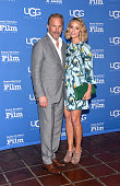 Actor Kevin Costner and wife Christine Baumgartner attend the premiere screening of 'MacFarland USA' at the 30th Santa Barbara International Film...