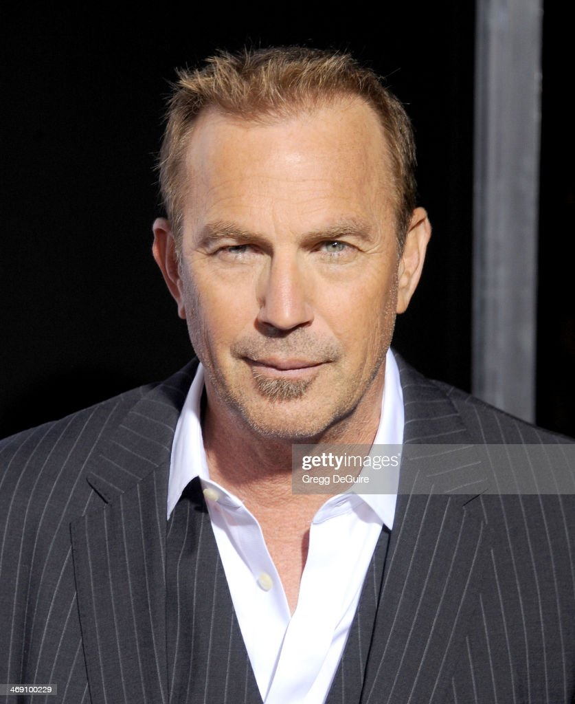 Actor <a gi-track='captionPersonalityLinkClicked' href=/galleries/search?phrase=Kevin+Costner&family=editorial&specificpeople=201719 ng-click='$event.stopPropagation()'>Kevin Costner</a> arrives at the Los Angeles premiere of '3 Days To Kill' at ArcLight Cinemas on February 12, 2014 in Hollywood, California.