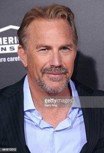 Actor Kevin Costner arrives at the world premiere of 'McFarland USA' at the El Capitan Theatre on February 9 2015 in Hollywood California