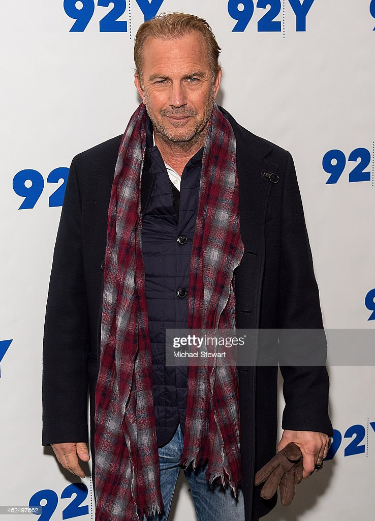 Actor Kevin Costner attends 92nd Street Y Presents: 'Black Or White' Preview Screening at 92nd Street Y on January 29, 2015 in New York City.