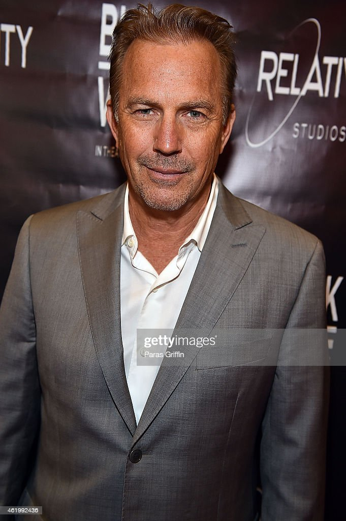 Actor <a gi-track='captionPersonalityLinkClicked' href=/galleries/search?phrase=Kevin+Costner&family=editorial&specificpeople=201719 ng-click='$event.stopPropagation()'>Kevin Costner</a> attends 'Black or White' red carpet screening at Regal Atlantic Station on January 22, 2015 in Atlanta, Georgia.