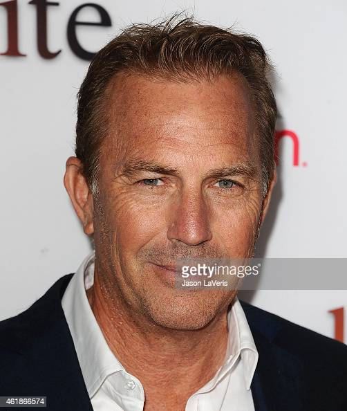 Actor Kevin Costner attends the premiere of 'Black or White' at Regal Cinemas LA Live on January 20 2015 in Los Angeles California