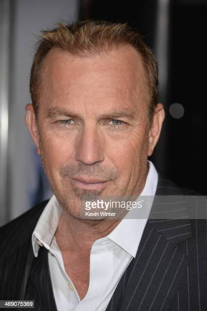 Actor Kevin Costner attends the premiere of Relativity Media's '3 Days To Kill' at ArcLight Cinemas on February 12 2014 in Hollywood California