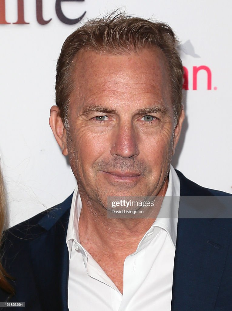 Actor Kevin Costner attends the premiere of Relativity Media's 'Black or White' at Regal Cinemas LA Live on January 20 2015 in Los Angeles California