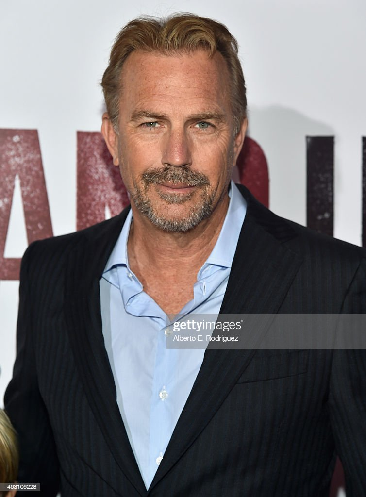 Actor <a gi-track='captionPersonalityLinkClicked' href=/galleries/search?phrase=Kevin+Costner&family=editorial&specificpeople=201719 ng-click='$event.stopPropagation()'>Kevin Costner</a> attends the world premiere of 'McFarland, USA' at The El Capitan Theatre on February 9, 2015 in Hollywood, California.