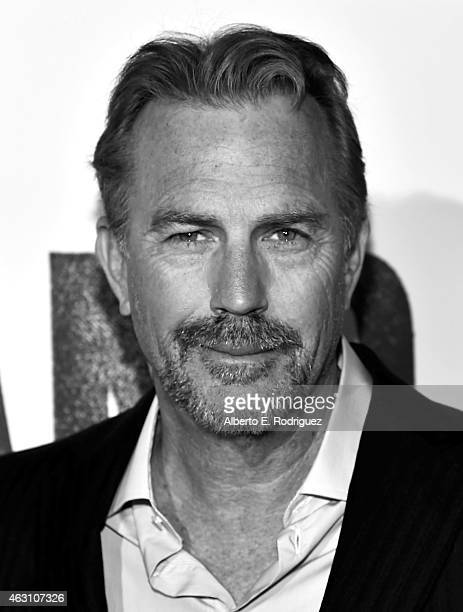 Actor Kevin Costner attends the world premiere of 'McFarland USA' on February 9 2015 in Hollywood California