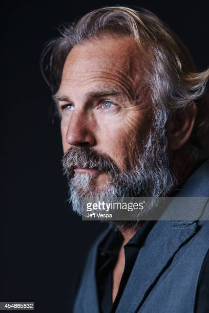 Actor Kevin Costner is photographed for a Portrait Session at the 2014 Toronto Film Festival on September 7 2014 in Toronto Ontario