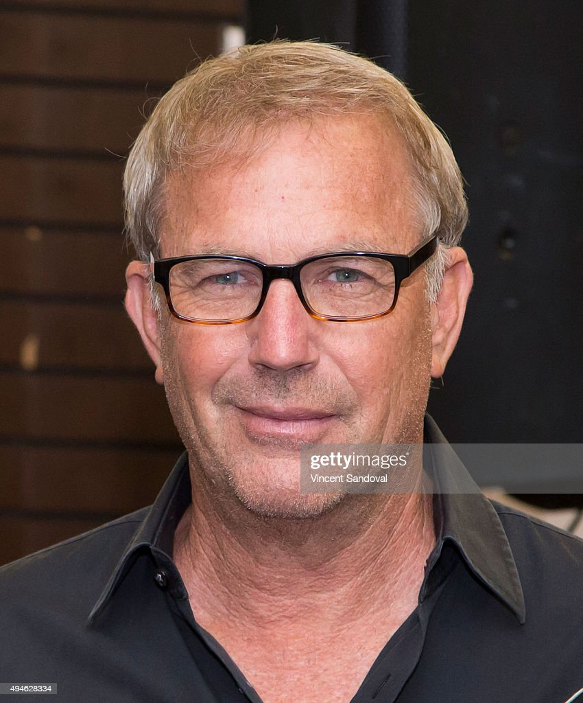 Actor <a gi-track='captionPersonalityLinkClicked' href=/galleries/search?phrase=Kevin+Costner&family=editorial&specificpeople=201719 ng-click='$event.stopPropagation()'>Kevin Costner</a> signs his new book 'The Explorers Guild: Volume One: A Passage To Shambhala' at Barnes & Noble at The Grove on October 27, 2015 in Los Angeles, California.